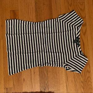 Striped shirt from Ralph Lauren.